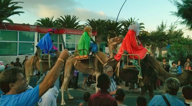 El desfile de los Reyes Magos
